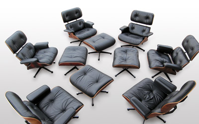 Restauration Charles U0026 Ray Eames Lounge Chair