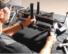 Service Wagenhuber GmbH Monteur Reparatur Alu Chair Gasfeder Stabilus Werkzeug